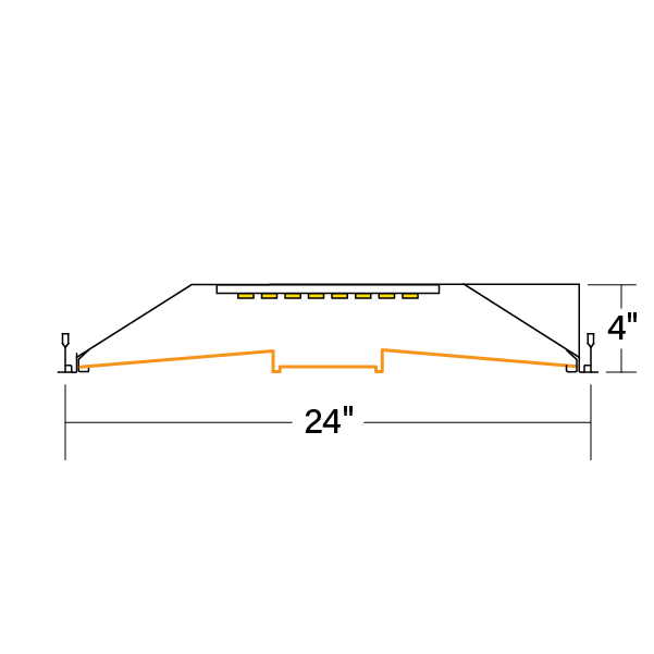 HPR_LED_2x4_A-DCO-V-835_xsection