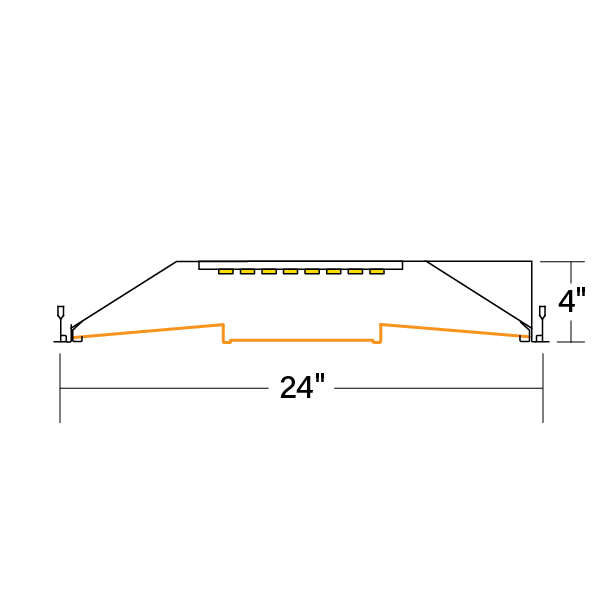 HPR_LED_2x4_CS-V-835_xsection