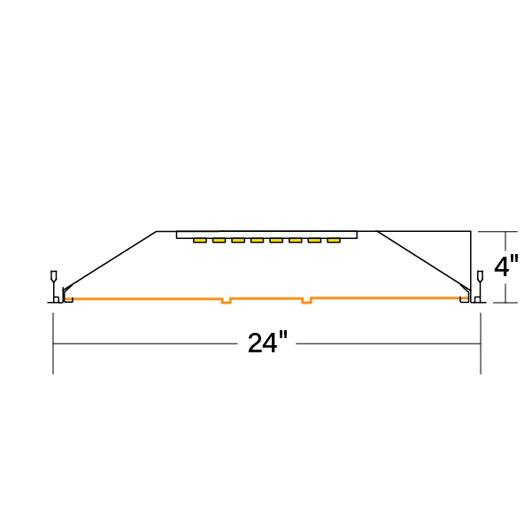 HPR_LED_2x4_F-DCO-V-835_xsection